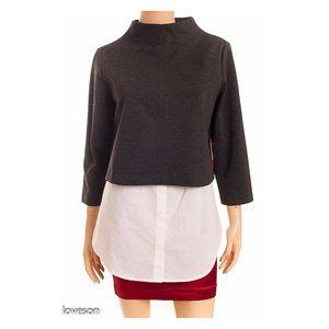 VINCE CAMUTO 'Power Play Fashion' Layered Top NEW!